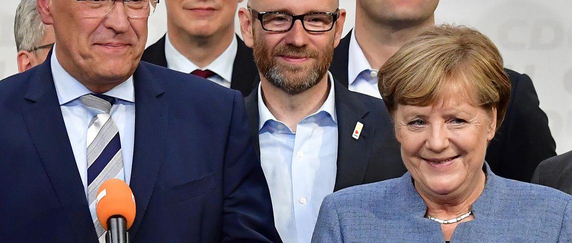 какую должность занимает меркель в германии